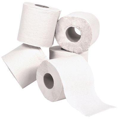 Pack de 96 Lucart Professional 811607 Eco Rouleaux de papier toilette Blanc