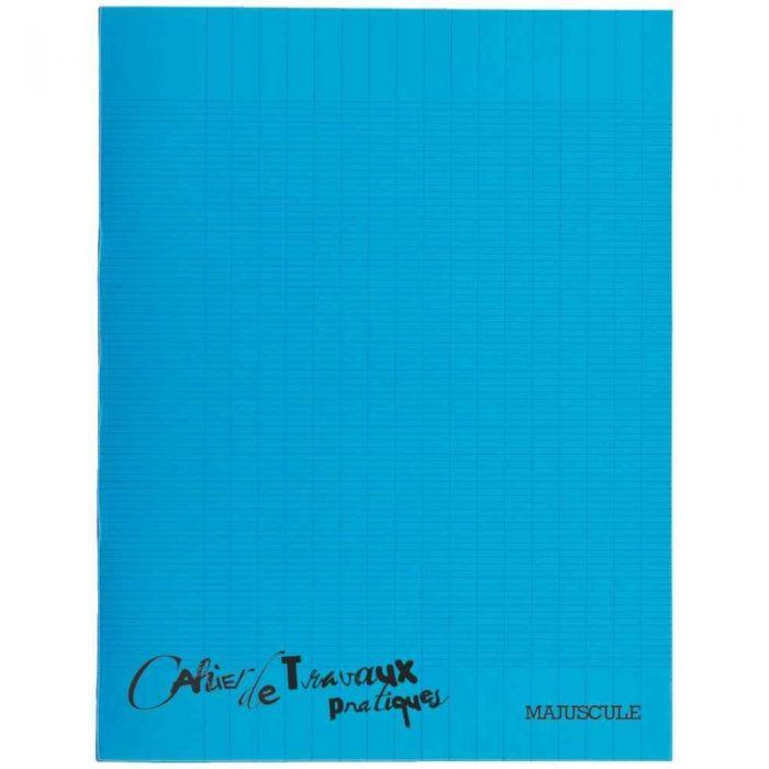 Cahier De Travaux Pratiques Piqures Polypropylene 17x22 Grand Carreaux Dessin 64p