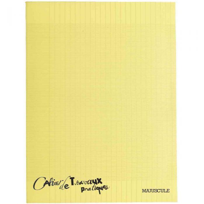 Cahier De Travaux Pratiques Piqures Polypropylene 24x32 Grand Carreaux Dessin 96p