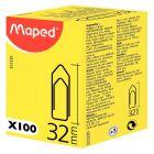 MAPED - 322320 - Trombone 32mm bout chevron Maped - boite de 100