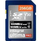 INTEGRAL - INSDX256G-100 - CARTE MEMOIRE INTEGRALE PREMIUM SD XC 256GO