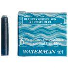 Mini cartouche waterman b.m.s - etui de 6
