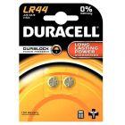 Duracell - LR44 - Pile bouton alcaline - Blister de 2