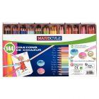 Classpack de 144 crayons de couleur MAJUSCULE