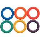 Anneaux tennis diamétre 15cm - lot de 6