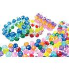 Perles rondes facettées - Sachet de 1600