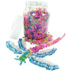 Bocal de 500 G de perles rocailles nacreés