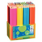 Classpack de 144 crayons de couleur 18cm