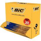 BIC - 924265 - Cristal fine dont 10 gratuits bleu - Pack de 100