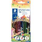 NORIS - 185 C12 - Etui de 12 crayons de couleur Noris colour 185 assortis