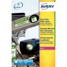 Avery - L4773-20 - Etiquettes ultra résistantes 63.5x33.9mm - Paquet de 480