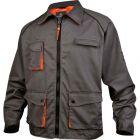 Veste gris et orange taille XXL