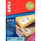 APLI AGIPA - 11787 - Etiquette adhésive extra forte blanche A4 - Paquet de 100