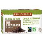 Sachet the breakfast bio - Boite de 20
