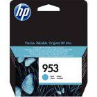 HP - F6U12AE - Cartouche Cyan N°953