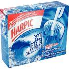 Harpic - PV61032001 - Bloc cuvette wc senteur Marine - Boîte de 2