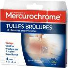 MERCUROCHROME - 501319 - Tulles brûlures - Boite de 4