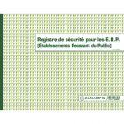 Exacompta - 6623E - Registre de Sécurité pour les ERP (Établissements Recevant du Public) - 24 x 32cm