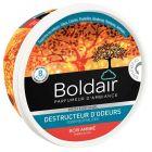 Boldair - 607632 - Boîte de gel destructeur d'odeurs senteur bois ambré