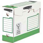 Bankers box - 4474302 -  Boîte archive Heavy Duty - Vert - Dos 10cm - Paquet de 20