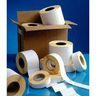 Etiquettes thermiques adhésives 50x50mm - Carton de 16 rouleaux