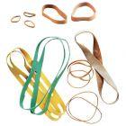 SAFETOOL - Bracelet élastique en caoutchouc blond 120x03mm - boite de 100g