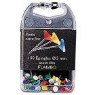 Exacompta - 16919AS - Epingle de signalisation 5mm assorti - Boite de 100