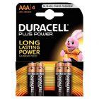Duracell - 115743 - Pile alcaline 1.5V -  LR03 AAA - Blister de 4 piles