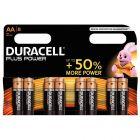 Duracell - 114920 - Pile alcaline 1.5V - LR6 AA - Blister de 8 piles