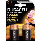 Duracell - 114753 - Pile alcaline 1.5V - LR14 E93 C - Blister de 2 piles