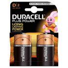 Duracell - 401917 - Pile alcaline 1.5V - LR20 / MN1300 E95 D - Blister de 2 piles