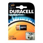 Duracell - 052008 - Pile lithium 3V ultra photo - 123A - Blister de 1