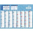 Calendrier septembre à Décembre 36x56