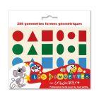 Maxi gommette geometrique hollographique - pochette de 720