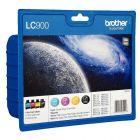 Cartouche lc900 Brother n/c/m/j - pack de 4