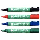 Marqueur pour tableau blanc greenlife - pochette de 4