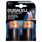Duracell - 10539 - Pile alcaline 1,5V ultra power - LR20 D -  Blister de 2 piles