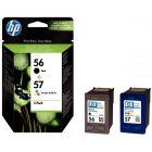 HP - SA342AE - Cartouche Noir et Couleur N°56 / n°57