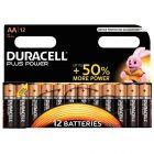 Duracell - 114944 - Pile alcaline 1.5V plus power - LR6 - Blister de 12 piles