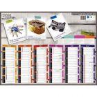 Bouchut grandremy - 004939 - Calendrier semestriel 6mois 32x42 les regles du sport