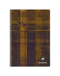 Clairefontaine - 68141 - Cahier spirale grand carreaux - 100 Pages - A4