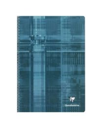 Clairefontaine - 68161 - Cahier spirale grand carreaux - 180 Pages - A4