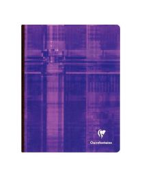 Clairefontaine - 69741 - Cahier brochure grand carreaux - 192 Pages - 17x22 cm