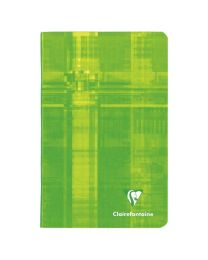 Clairefontaine - 63602 - Carnet piqûre petit carreaux - 96 Pages - 11x17 cm