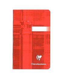 Clairefontaine - 63592 - Carnet piqûre petit carreaux - 96 Pages - 9x14 cm