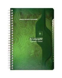 Clairefontaine - 247 - Répertoire spirale petit carreaux - A5 - 180 Pages