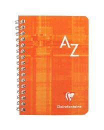 Clairefontaine - 68599 - Répertoire spirale petit carreaux - 100 Pages - 9x14 cm