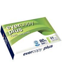 Evercopy - 50048 - Ramette papier A4 recyclé 80g - Blanc