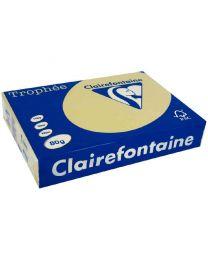 Clairefontaine - 1254 - Ramette papier A3 80g - Caramel - 500 Feuilles