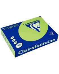 Clairefontaine - 2975 - Ramette papier A4 80g - Vert fluo - 500 Feuilles